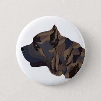 Abstract Cane Corso button