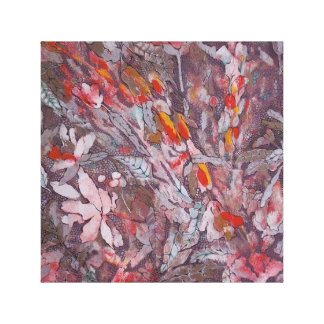 abstract canvas print ''Gray''