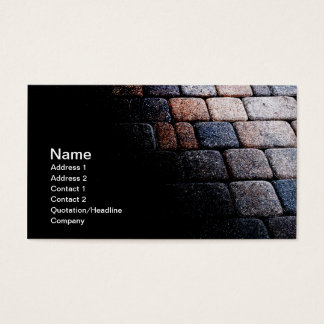 abstract card of a stone path or walkway