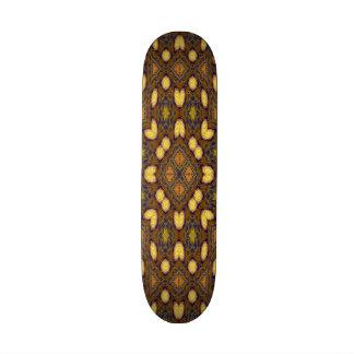 abstract carpet pattern skate deck