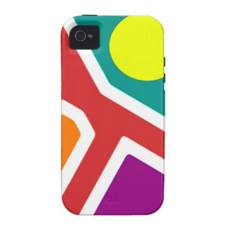 abstract case for the iPhone 4