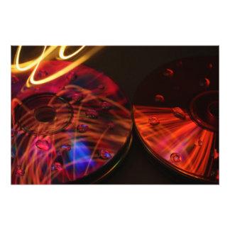 Abstract CD's Photo Art