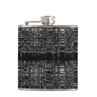 Abstract chain pattern flask