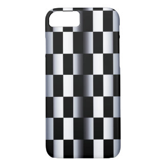 Abstract Checkerboard iPhone 7 Case