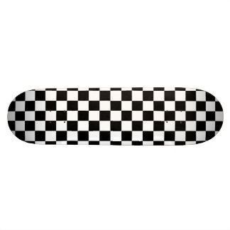 Abstract Checkers Skateboard Deck