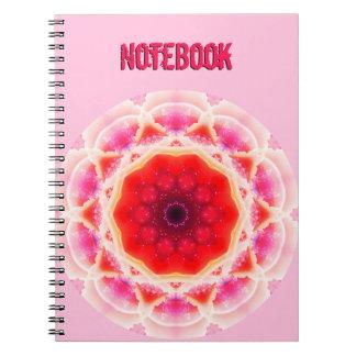 Abstract CheeseCake Mandala Notebook