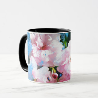 Abstract Cherry Blossom Mug