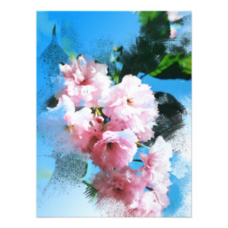 Abstract Cherry Blossom Photo Art