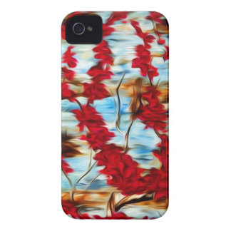 Abstract Cherry Tree iPhone 4 Covers