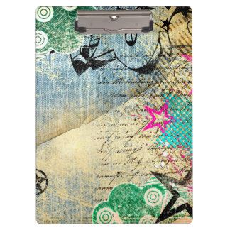 Abstract Chic Design Clipboards