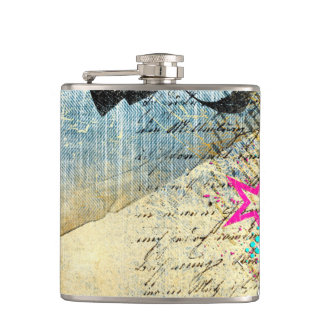 Abstract Chic Design Flask