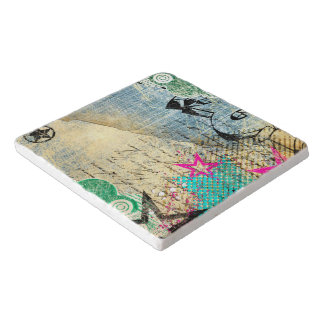 Abstract Chic Design Trivet