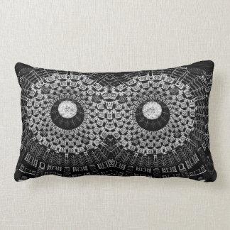 abstract circle pillow