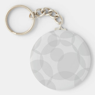 Abstract Circles Basic Round Button Keychain