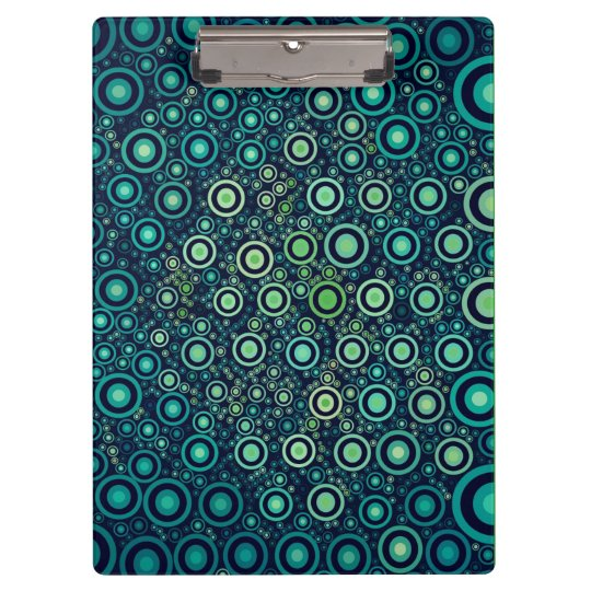 Abstract Circles Clipboard