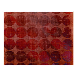 Abstract Circles: Custom Template: Customize It! Postcard