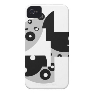 Abstract Circles iPhone 4 Cover