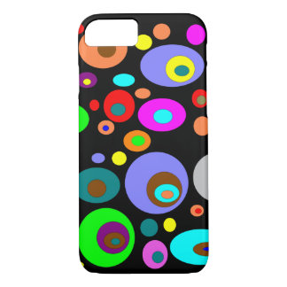 Abstract Circles iPhone 7 Case
