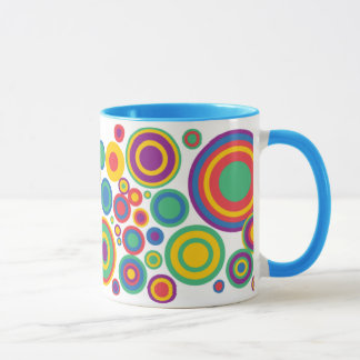 Abstract Circles Mug