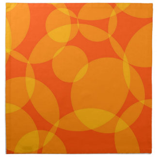 Abstract Circles Napkin