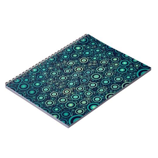 Abstract Circles Notebook