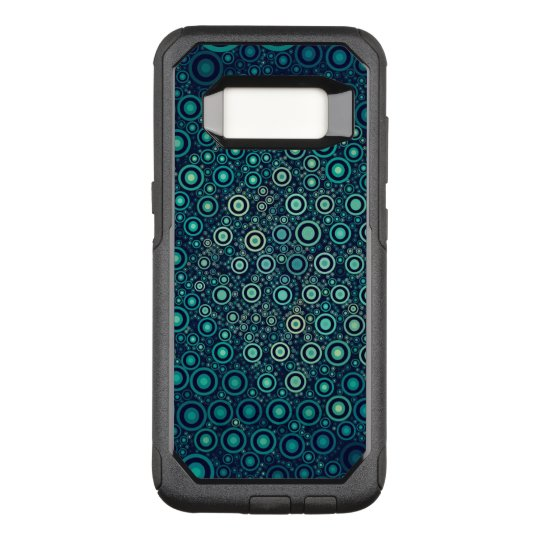 Abstract Circles OtterBox Commuter Samsung Galaxy S8 Case