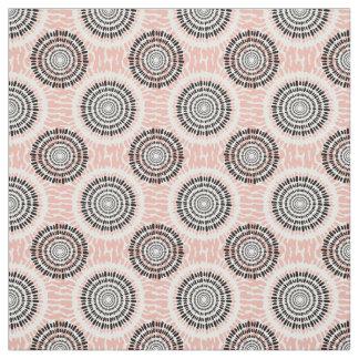 Abstract Circles Pattern fabric