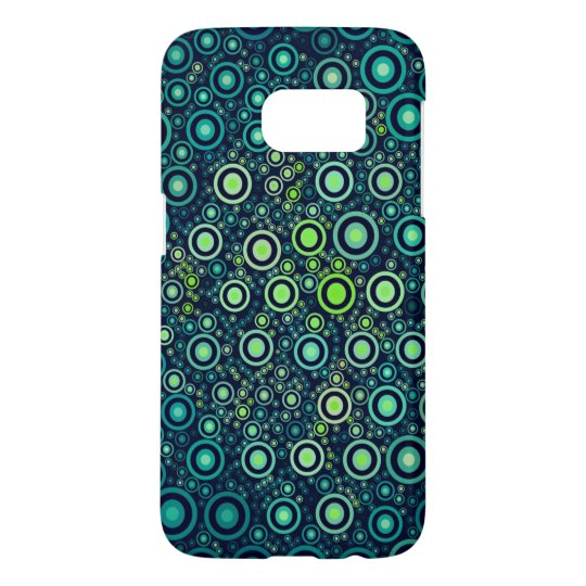 Abstract Circles Samsung Galaxy S7 Case