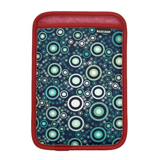 Abstract Circles Sleeve For iPad Mini