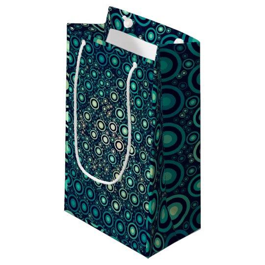 Abstract Circles Small Gift Bag