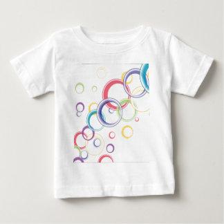 Abstract Circular Background Baby T-Shirt