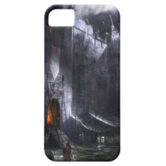 Abstract City Medieval Castle iPhone 5 Cases