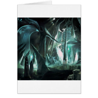 Abstract City Priest World Card