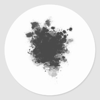 Abstract Classic Round Sticker