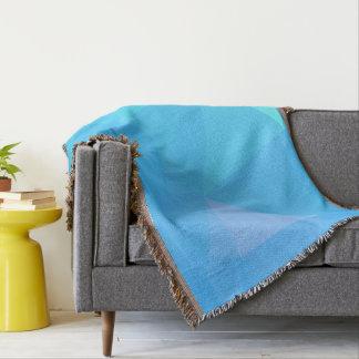 Abstract & Clean Geo Designs - Atlantic Fox Throw Blanket