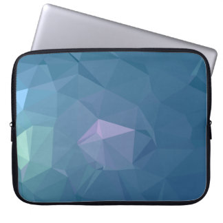 Abstract & Clean Geo Designs - Blue Iron Laptop Sleeve