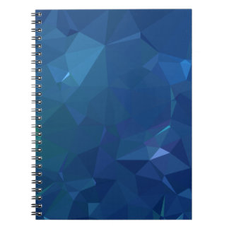 Abstract & Clean Geo Designs - Bluejay Crystal Notebook