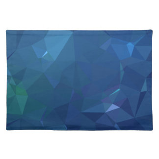 Abstract & Clean Geo Designs - Bluejay Crystal Placemat