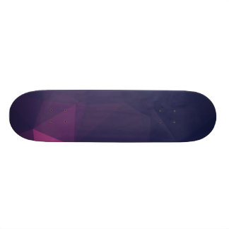 Abstract & Clean Geo Designs - Chaos Glory Skateboard