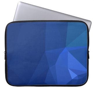 Abstract & Clean Geo Designs - Deep Navy Laptop Sleeve