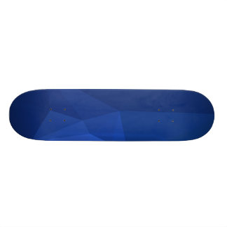 Abstract & Clean Geo Designs - Deep Navy Skateboard Decks