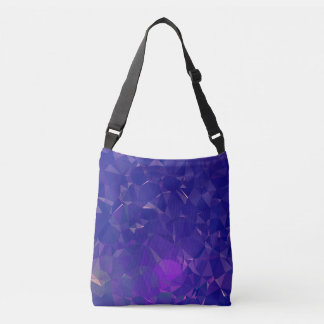Abstract & Clean Geo Designs - Electric Dragon Crossbody Bag