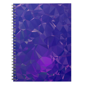 Abstract & Clean Geo Designs - Electric Dragon Notebook