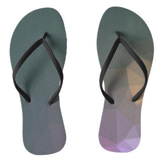 Abstract & Clean Geo Designs - Galaxy Marvels Flip Flops