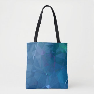 Abstract & Clean Geo Designs - Island Lagoon Tote Bag
