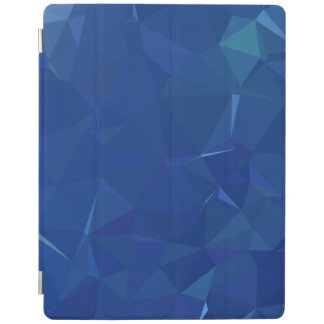 Abstract & Clean Geo Designs - Midnight Ice iPad Cover