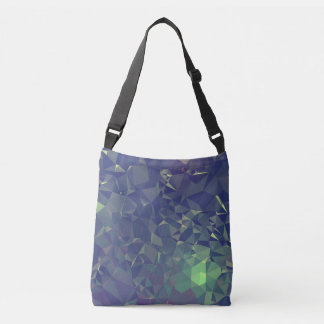 Abstract & Clean Geo Designs - Nightime Fireflies Crossbody Bag