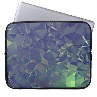 Abstract & Clean Geo Designs - Nightime Fireflies Laptop Sleeve