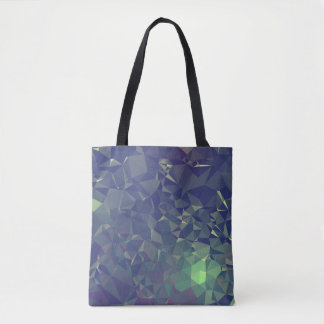 Abstract & Clean Geo Designs - Nightime Fireflies Tote Bag
