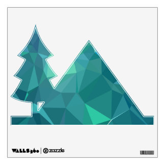 Abstract & Clean Geo Designs - Pale Sky Wall Sticker